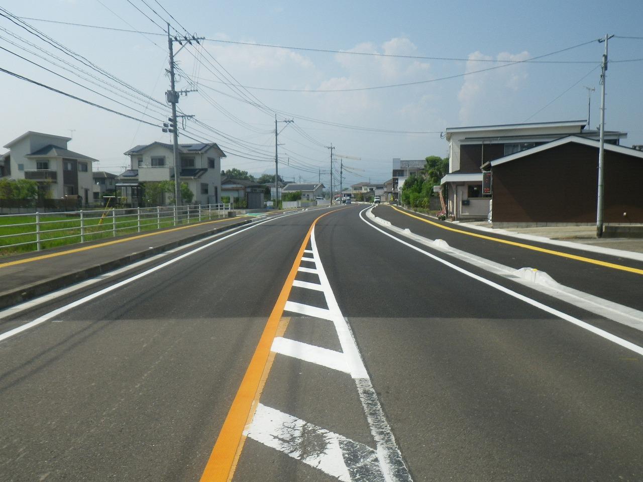 川田工区道路改良工事